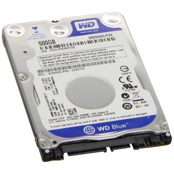 HD Interno 500GB 2,5' WD Blue WD500LPCX SATA 6GB/S