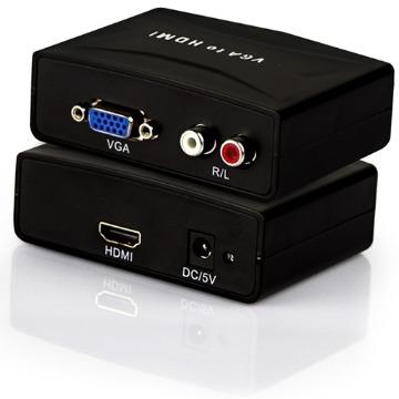 Conversor VGA x HDMI c/Audio Xtrad