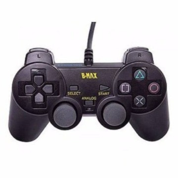 CONTROLE PS2 B-MAX BM021B PRETO