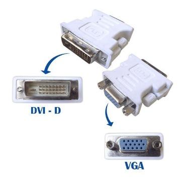 Adaptador DVI-D x VGA Lelong