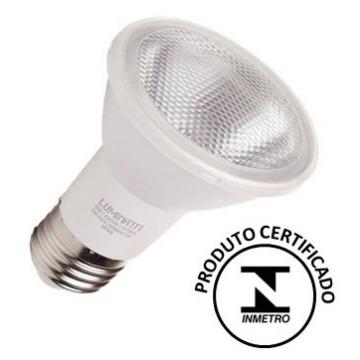 LÂMP LED PAR20 6W 2700K 360lm IP65 C/INMET LUMINATTI