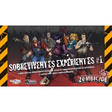 Zombicide Sobreviventes Experientes #1 Expansão