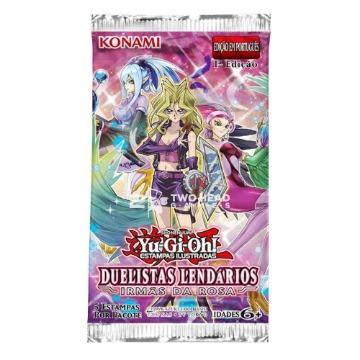 Yu-Gi-Oh! Booster Duelistas Lendários Irmãs da Rosa