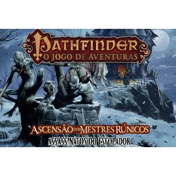 Pathfinder Expansão Assassinos do Esfolador