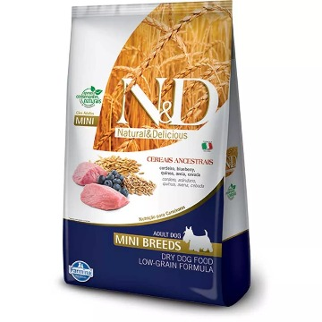 N&D Low Grain Cães Adulto Mini Cordeiro