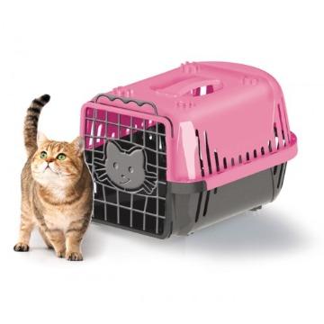Caixa de Transporte Evolution Cat Rosa