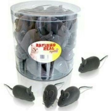 Ratinhos de Plástico para gatos