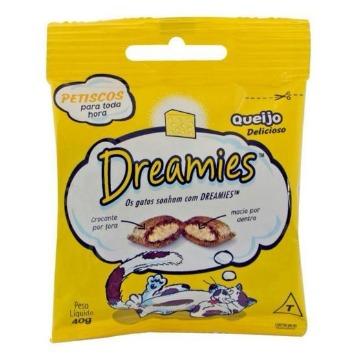 Petiscos Dreamies - Sabor Queijo - 40g