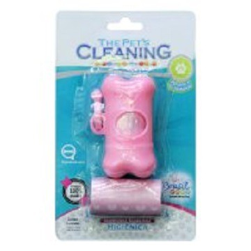 Kit Cata Caca The Pets Cleaning cores diversas