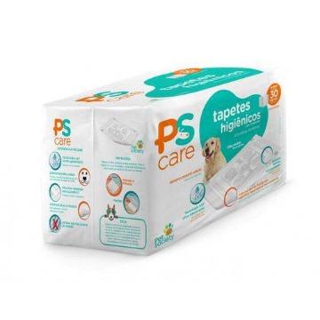 Tapete Higiênico Pet Society PS Care com 30 Unidades (60cmx80cm)