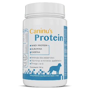 Caninus Protein - Suplemento alimentar para cães 100g