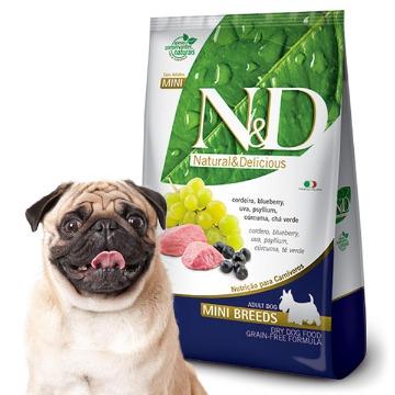 Ração Farmina N & D Grain Free Cordeiro para Cães Adultos de Raças Médias 2,5 kg