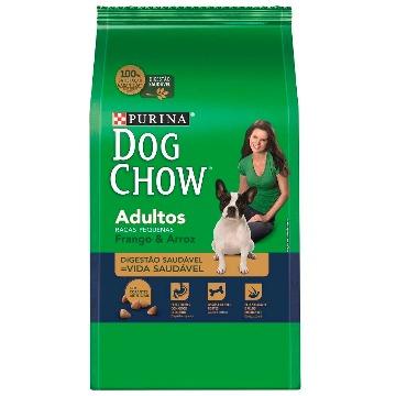 Dog Chow Adulto Raças Pequenas Frango e Arroz 15 kg
