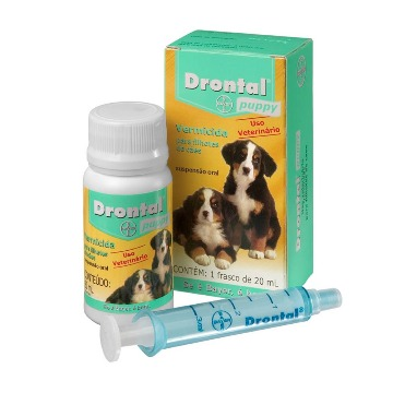 Drontal puppy - vermicida e giardicida