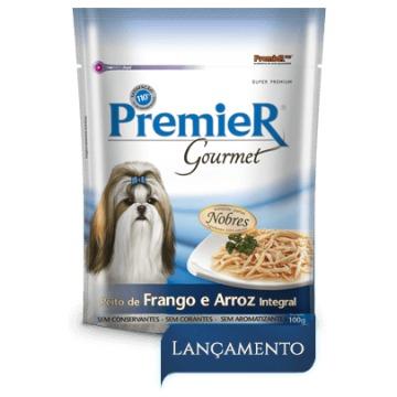 Premier Gourmet Peito de Frango e Arroz Integral