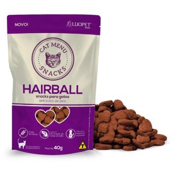 Snacks para gatos Hairball 40g