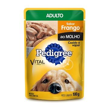 PEDIGREE® Sachê Adulto Sabor Frango ao Molho