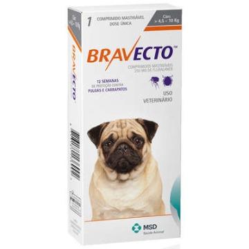 Bravecto 4,5 - 10 kg