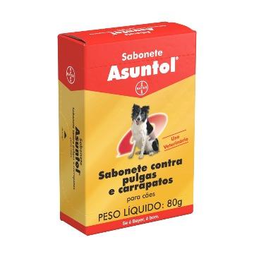 Sabonete Bayer Ectoparasiticida Asuntol - 80 g