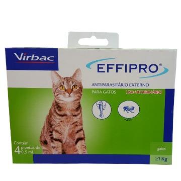 Effipro - antiparasitário externo gatos