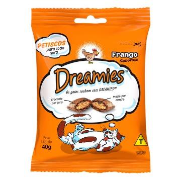 Petiscos Dreamies - Frango 40g