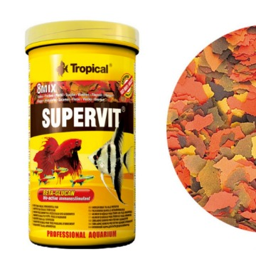 Ração Supervit Flocos 50 g - Tropical
