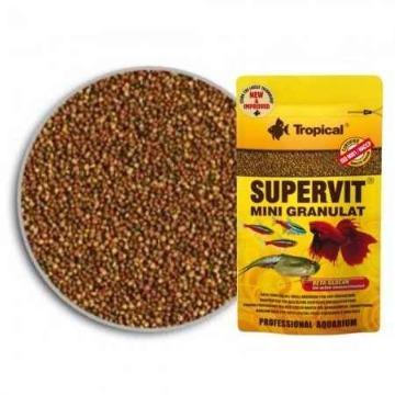 Ração Supervit Mini Grânulos - Tropical