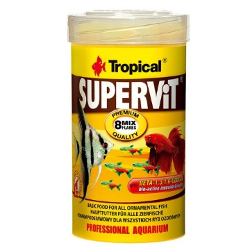 Ração Supervit Flocos 25G - Tropical