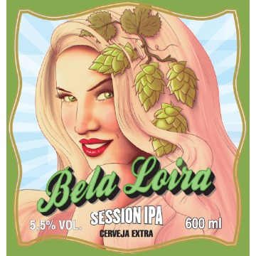 Bela Loira Session IPA Crowler 473Ml