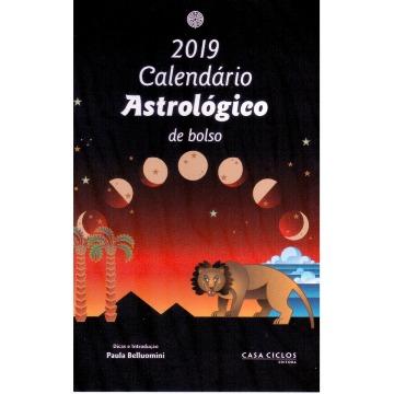 Calendário Astrológico de Bolso 2019