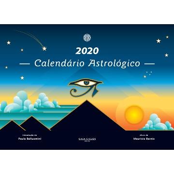 2020 Calendário Astrológico de parede