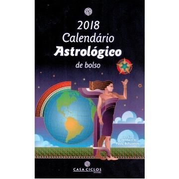 Calendário Astrológico de Bolso 2018