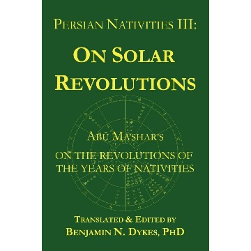 Persian Nativities - Volume III
