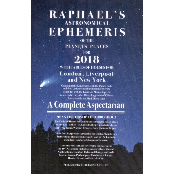 Raphael´s Ephemeris for 2018