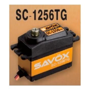 SERVO DIGITAL SAVOX SC-1256 TG (HIGH TORQUE, 6VOLTS, 20KG, 0.15S)