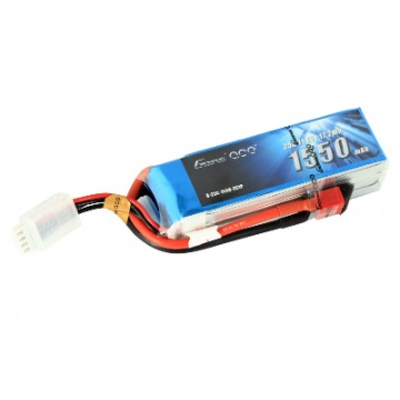 BATERIA LIPO GENS ACE 3S 11.1V 1550mAh 25C Pack with Deans plug
