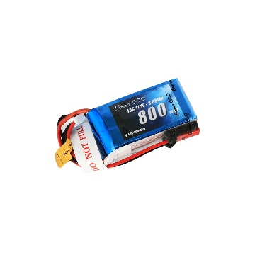 BATERIA LIPO Gens ace 3S 11.1 V800mAh 40C Pack with JST-SYP plug