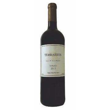 Vinho Tinto Fino Terrassos - Syrah - 2015