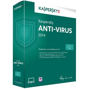 Kaspersky Antivirus 2016 1 PC