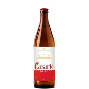 CERVEJA WEISS CASARIO 500 ML
