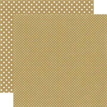 Echo Park - Dots & Stripes - Gold #DS15045