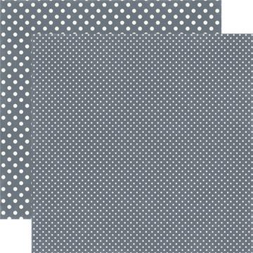Echo Park - Dots & Stripes - Charcoal - #DS15049