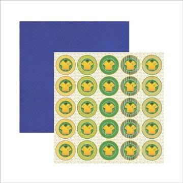 Brasil Medalhão Camiseta 14798 (SDF412)