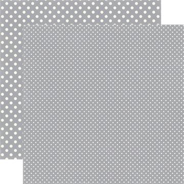 Echo Park - Dots & Stripes - Silver- #DS15046