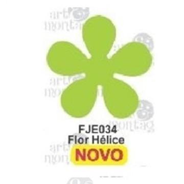 FJE034 Furador Jumbo EVA Flor Hélice