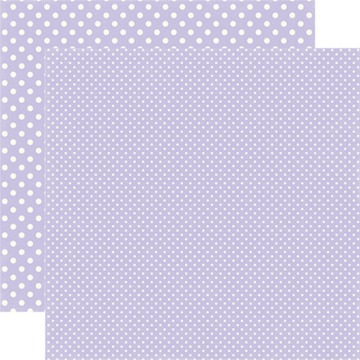 Echo Park - Dots & Stripes - Frosted Amethyst - #DS15054