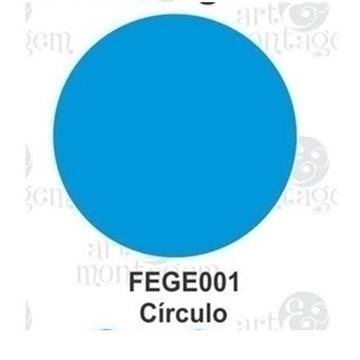 FEGE001 Furador Extra Gigante EVA Círculo