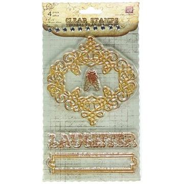 536381 - Clear Stamps 4x6 Fontologie - Prima Marketing