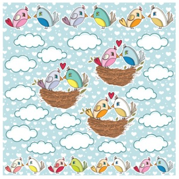 PP062 - LOVE LITTLE BIRDS - COLOR YOUR LOVE