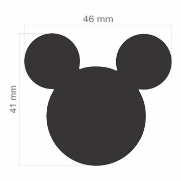 FEGAD01 Furador Extra Gigante Premium Disney Cabeça Mickey Mouse